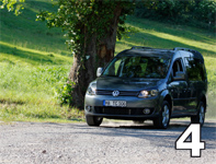 Terracamper VW Caddy 4motion