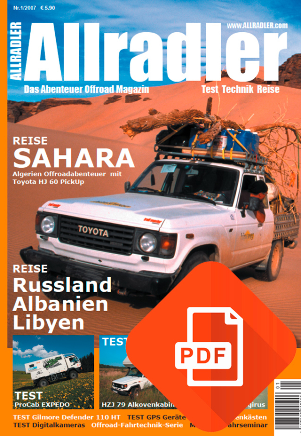 Allradler Ausgabe 2/07 Download
