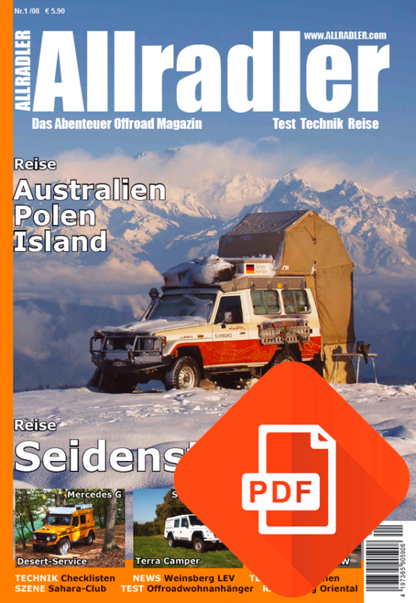 Allradler Ausgabe 1/08 Download