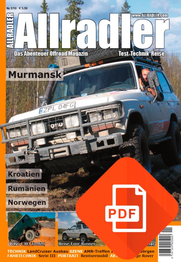 Allradler Ausgabe 1/10 Download
