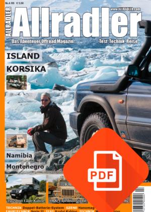 Allradler Ausgabe 4/09 Download