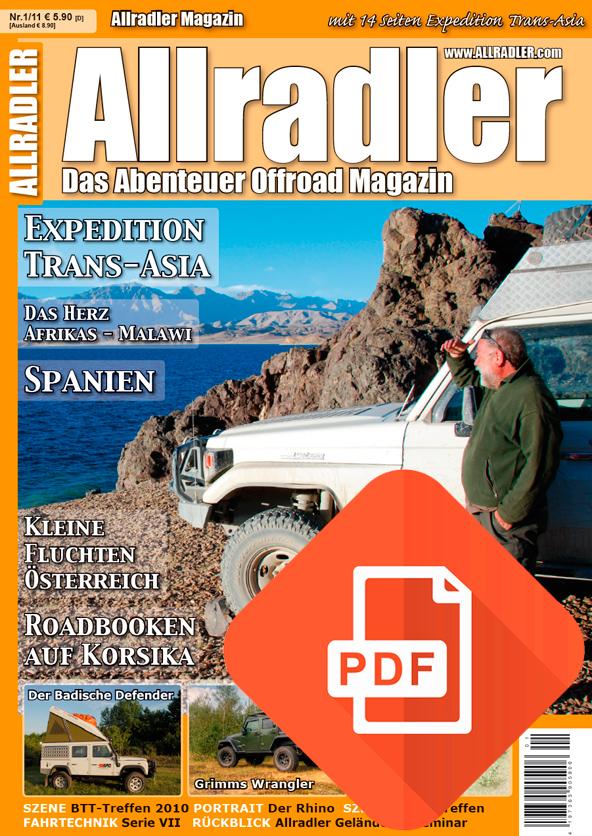 Allradler Ausgabe 1/11 Download