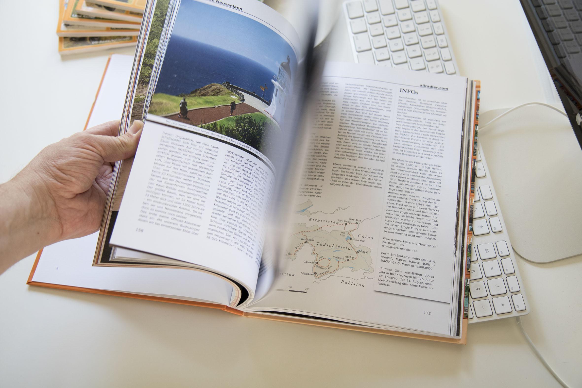 Das Abenteuer Offroad Buch - 10 Jahre Allradler