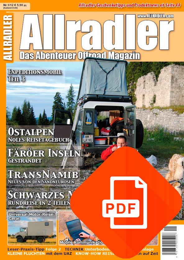 Allradler Ausgabe 1/12 Download
