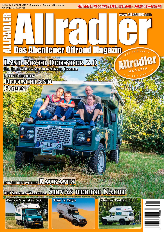 Allradler Ausgabe 4/17