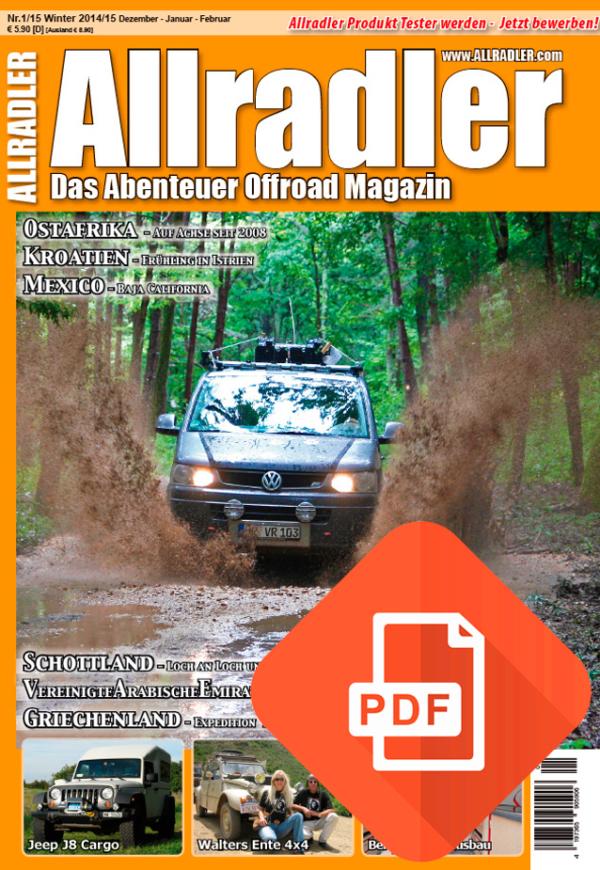 Allradler Ausgabe 1/15 Download