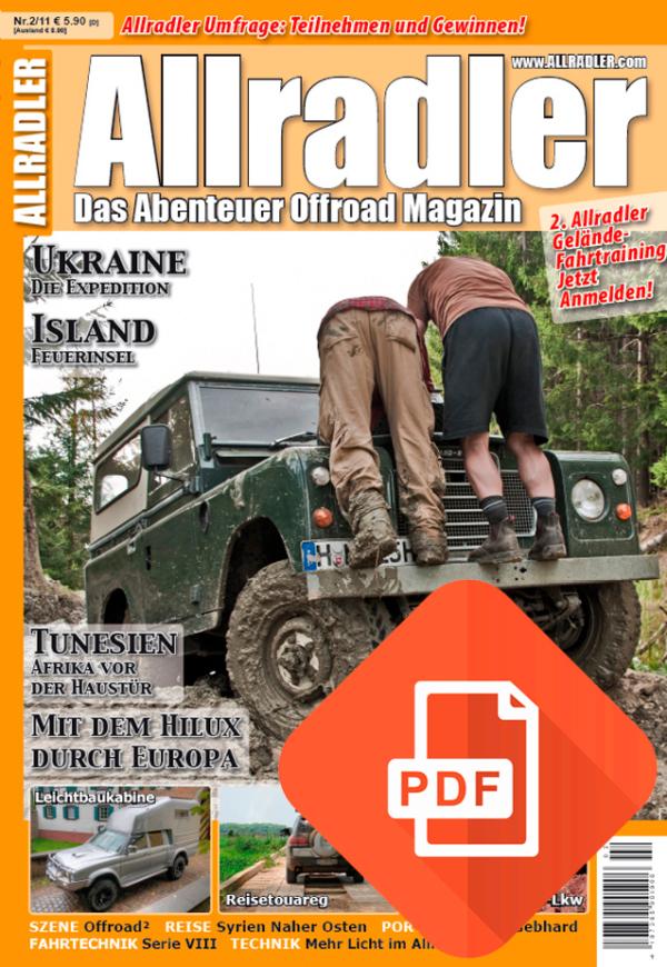 Allradler Ausgabe 2/11 Download