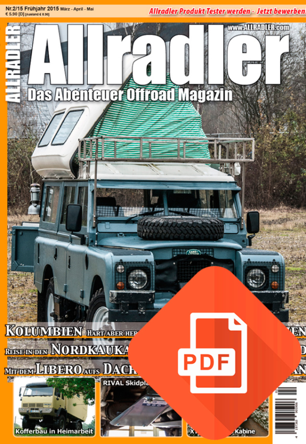 Allradler Ausgabe 2/15 Download