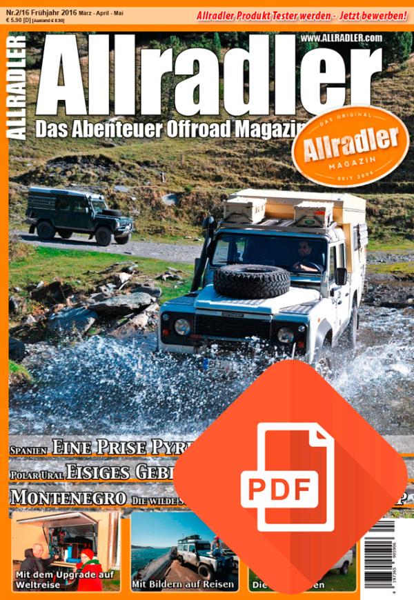 Allradler Ausgabe 2/16 Download