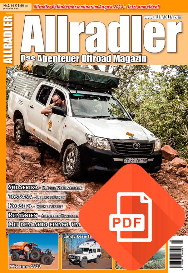 Allradler Ausgabe 3/14 Download