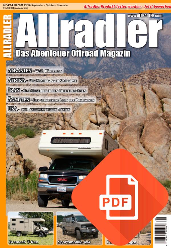 Allradler Ausgabe 4/14 Download