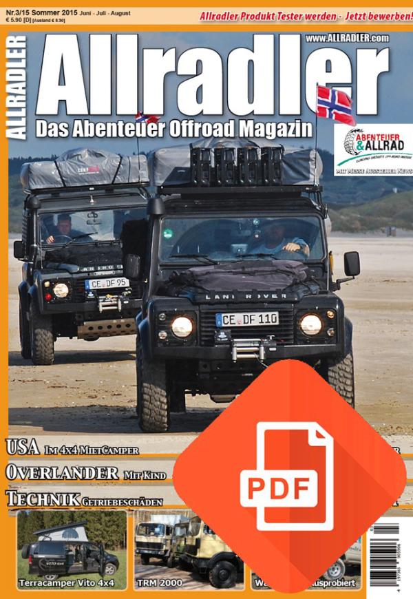 Allradler Ausgabe 3/15 Download