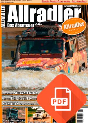 Allradler Ausgabe 1/16 Download