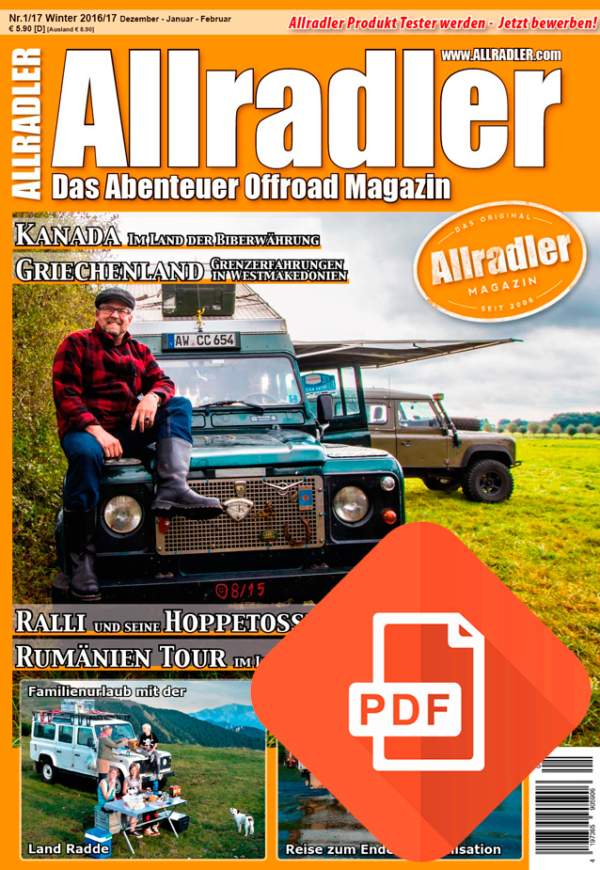 Allradler Ausgabe 1/17 Download
